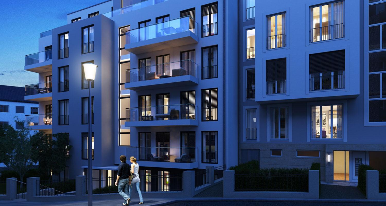 Wohnungskomplex Benediktinerhöfe Aachen